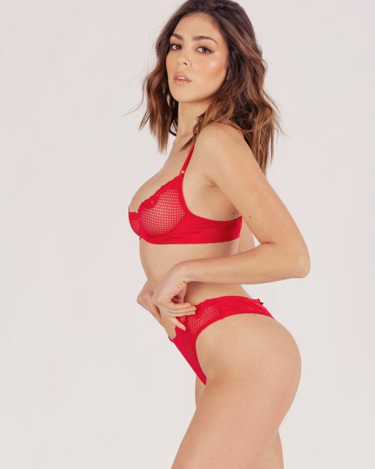 Slip Alice Brasiliana Rosso