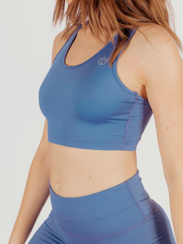 Reggiseno Sportivo Vivalicious Blue